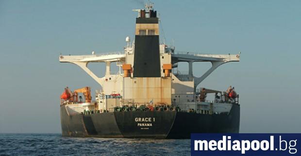 Съединените щати имат доказателства, че иранският петролен танкер