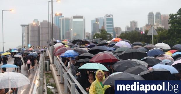 Организаторите на протестите в Хонконг отхвърлиха днес плана на главния