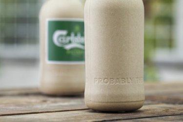 """""""Карлсберг"""" разработва бирена екобутилка от дървени влакна"""