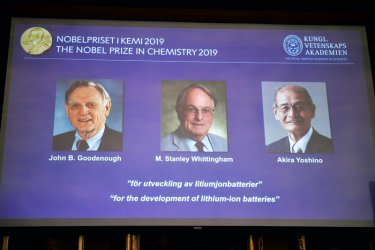 Създателите на литиево-йонните батерии взеха Нобел за химия