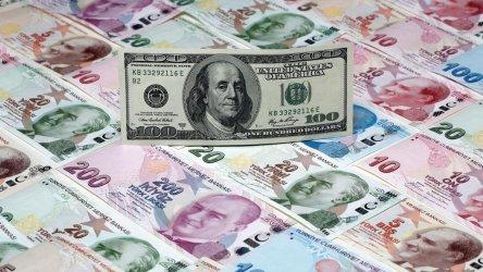 Турската лира удари месечно дъно спрямо долара