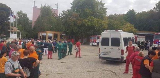 """Прокуратурата разследва пожар по непредпазливост в """"Дунарит"""""""