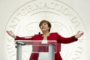 Кристалина Георгиева встъпва в длъжност като шеф на МВФ