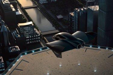 """Порше"" и ""Боинг"" разработват летящ електромобил"