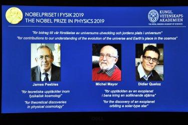 Разкрити тайни от раждането на Вселената взеха Нобел за физика