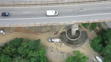 """До средата на декември приключва ремонтът на три участъка на магистрала """"Хемус"""""""