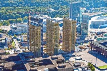 Съдът на ЕС в Люксембург се разшири с трети небостъргач