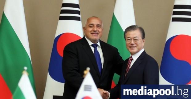 Президентът на Южна Корея Мун Дже-ин е предложил на България