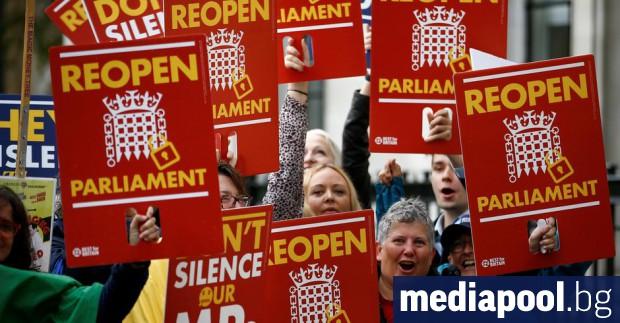 Решението на британския премиер Борис Джонсън да суспендира парламента за