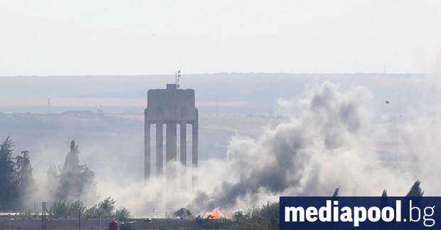 Турция засилва военната си офанзива в два сирийски погранични града