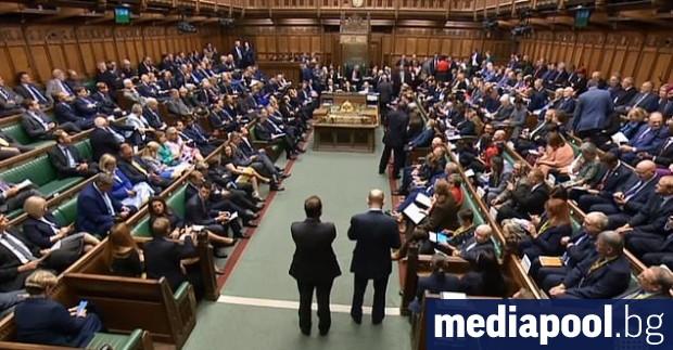 Британската Камара на общините се събра в сряда на заседание,