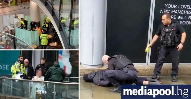 Петима души бяха намушкани днес с нож в търговски център
