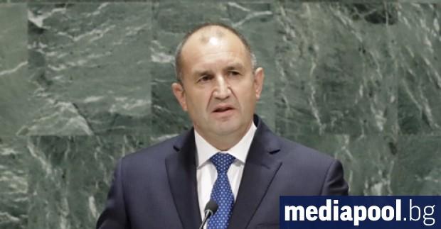 Президентът Румен Радев призова от трибуната на Общото събрание на