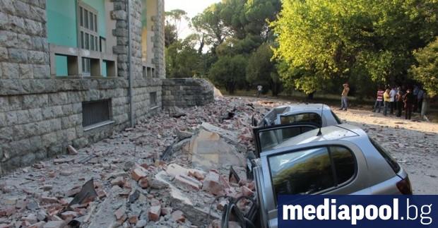 Около 500 обекта в Тирана и Дуръс са засегнати от