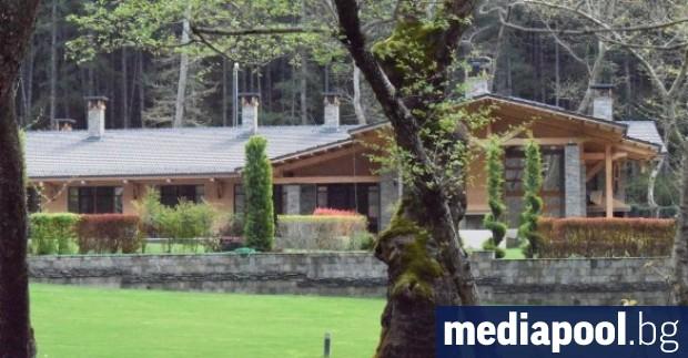 Къщата за гости на бившия зам.-министър на икономиката Александър Манолев