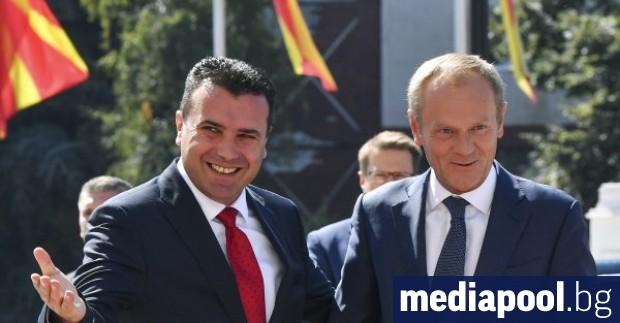 Председателят на Европейския съвет Доналд Туск похвали усилията на кабинета