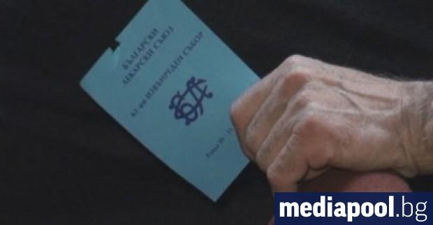 Българският лекарски съюз (БЛС) сезира Комисията по професионална етика към