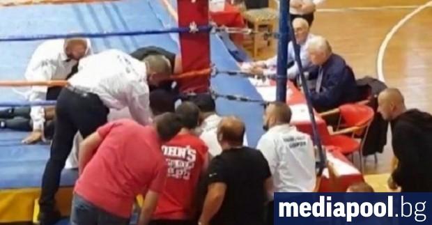 Българският боксьор Борис Станчов, който почина след боксов в мач
