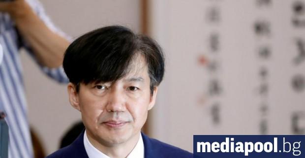 Министърът на правосъдието на Южна Корея Чо Гук подаде оставка