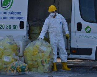 България е лидер в Европа по събирани опаковки от продукти за растителна защита