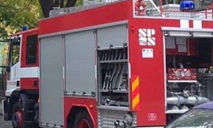 Пожар горя в столично заведение