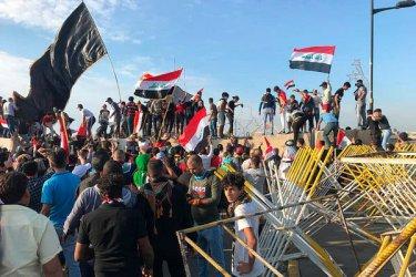 Най-малко 63 убити за два дни на протести в Ирак