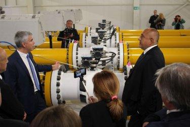 "Борисов откри ""политическа"" магистрала в очакване на две газови"