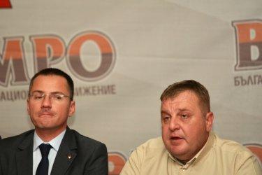 Каракачанов: Беше грешка, че Джамбазки не е атакува Фандъкова