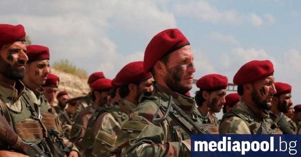 Сирийските бойци се заричаха да убиват