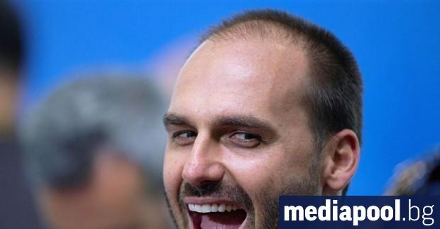 Бразилският депутат Едуардо Болсонаро, син на президента Жаир Болсонаро, стана
