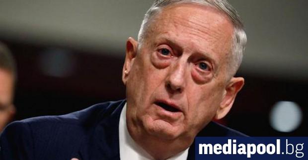 Бившият шеф на Пентагона ген. Джеймс Матис заяви, че е