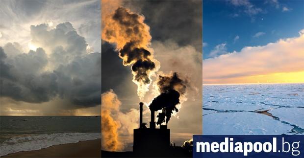 Снимка: Макрон и Си потвърдиха подкрепата си за Парижкото споразумение за климата