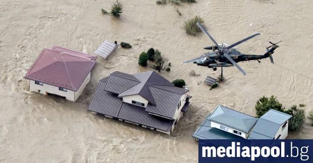 Седемдесет и пет са вече жертвите, причинени в Япония от