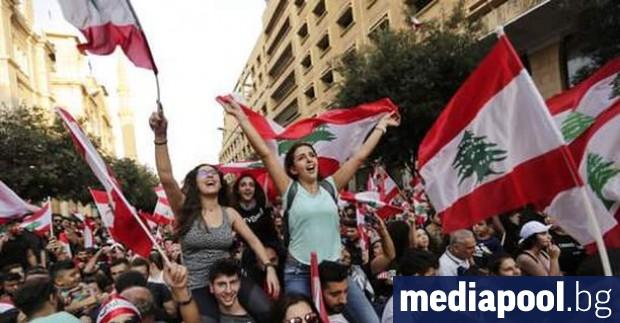 Антиправителствените протести, които разтърсиха Ливан в събота за трети пореден