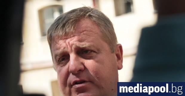 Според вицепремиера, министър на отбраната и лидер на ВМРО Красимир