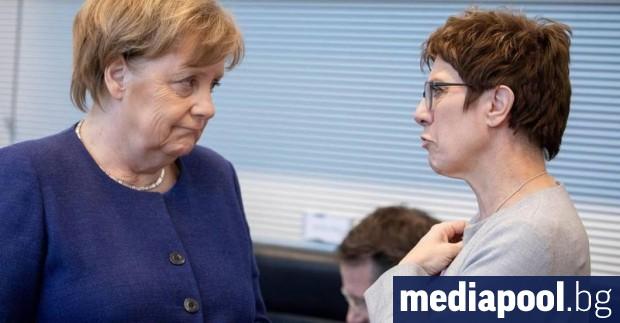 Германия предложи създаването на зона за сигурност под международен контрол