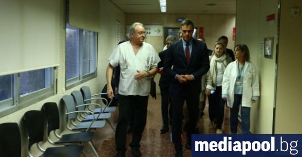 И.д. министър-председател на Испания Педро Санчес посети Барселона след седмица