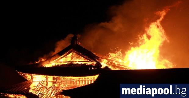 Японският дворец Сюри, който е част от обектите в списъка