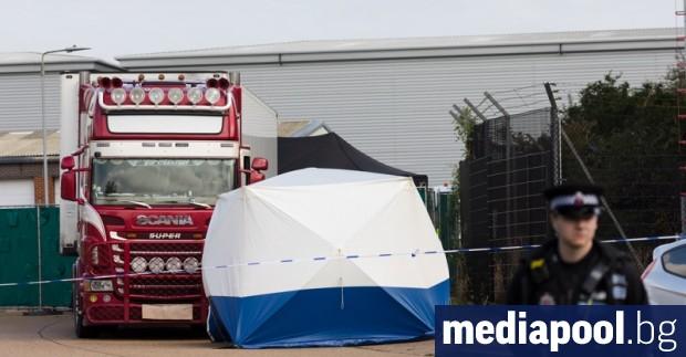 Британската полиция съобщи, че е идентифицирала телата на всички 39