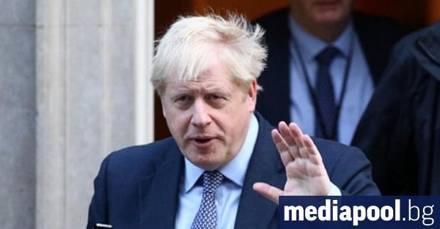 Британският премиер Борис Джонъсн е изпратил снощи неподписано писмо до