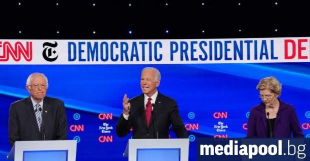 Дванадесетте участници в четвъртите телевизионни дебати на претендентите за демократическата
