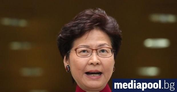 Продемократични депутати на два пъти прекъснаха годишната реч на шефката