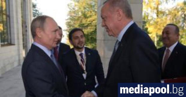 След шест часа разговори президентите на Русия и Турция Владимир