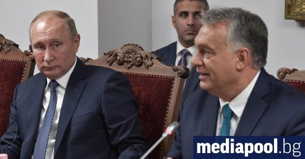 Руският президент Владимир Путин обяви пред унгарския премиер Виктор Орбан,