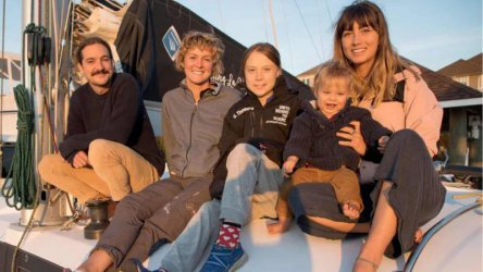 Грета Тунберг отплава от САЩ за Европа с катамаран за срещата на ООН
