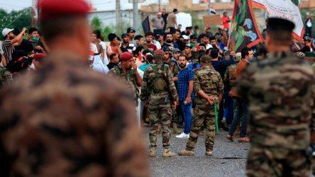 Петима убити и над 100 ранени при атака срещу демонстранти в иракския град Басра