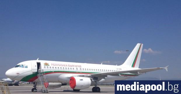Малкият правителствен самолет