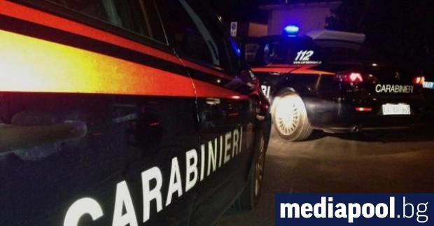 Италианската полиция съобщи, че е разбила въоръжена групировка, която е