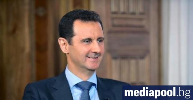 Сирийският президент Башар Асад заяви, че членовете на групировката