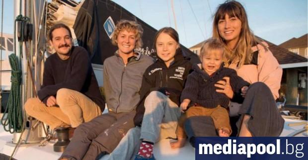 Шведската екоактивистка Грета Тунберг отплава в сряда от САЩ за